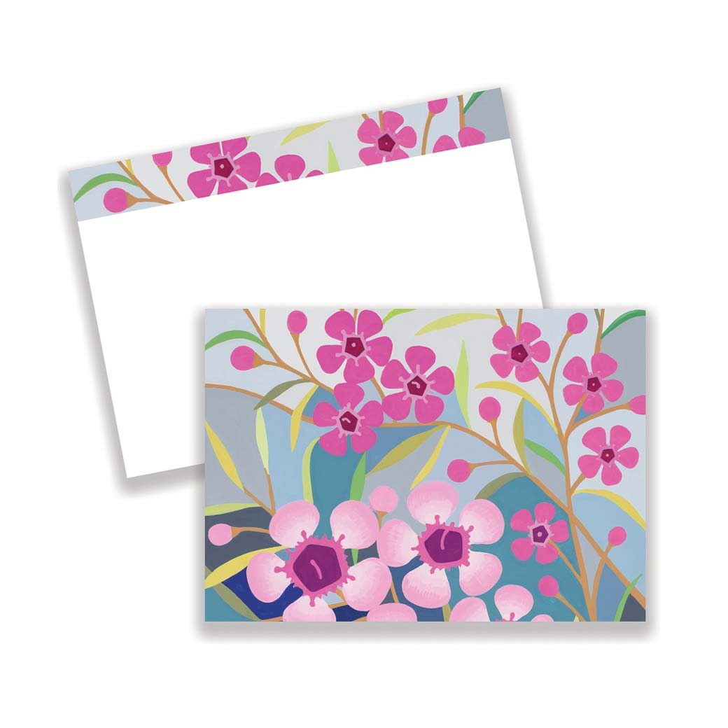 Geraldton Wax Notecards Stationery Online
