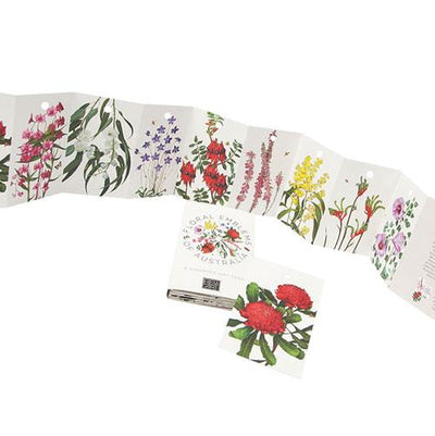 Australian Floral Emblems Gift Tag Wallet