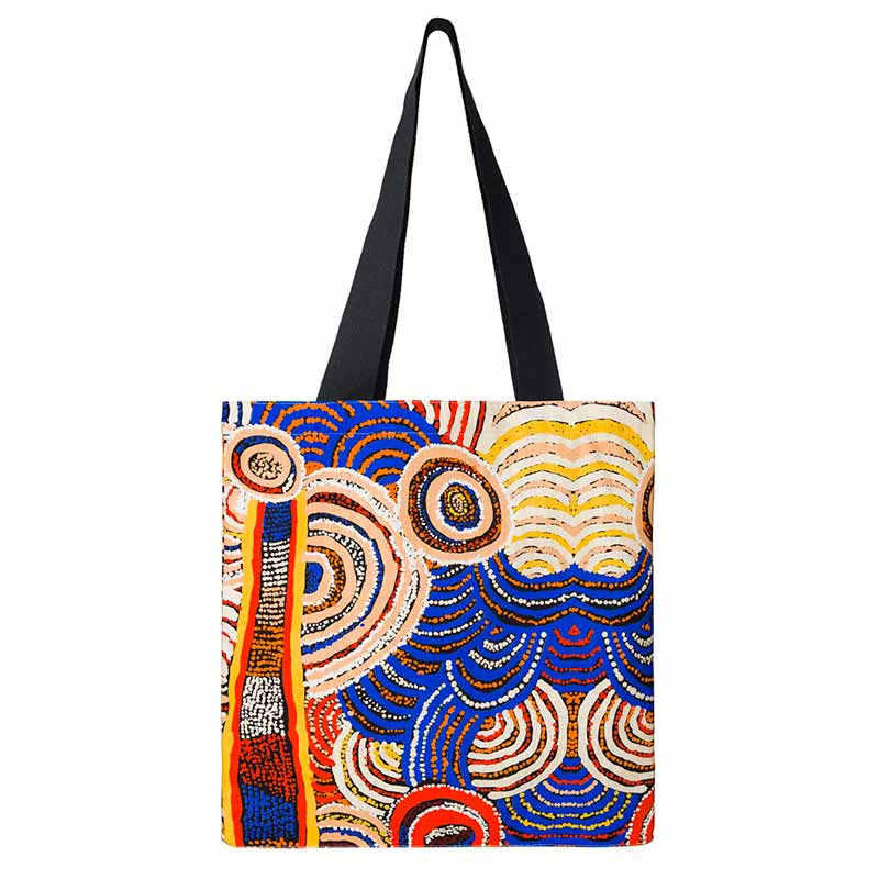 Australian Aboriginal Art Gifts Under $50 - Made in Australia Tote Bag