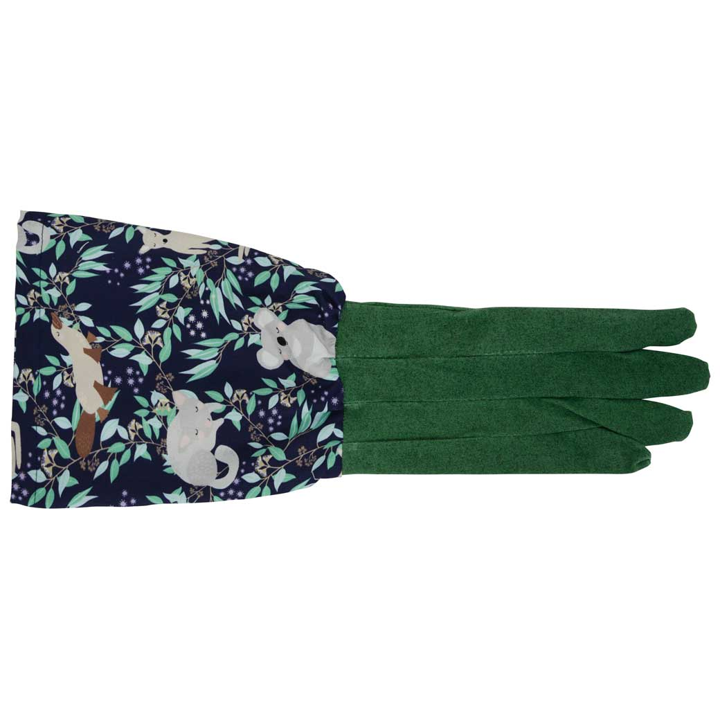 Gifts for Gardeners Australia - Long Sleeve Gardening Gloves Australian Wildlife Design