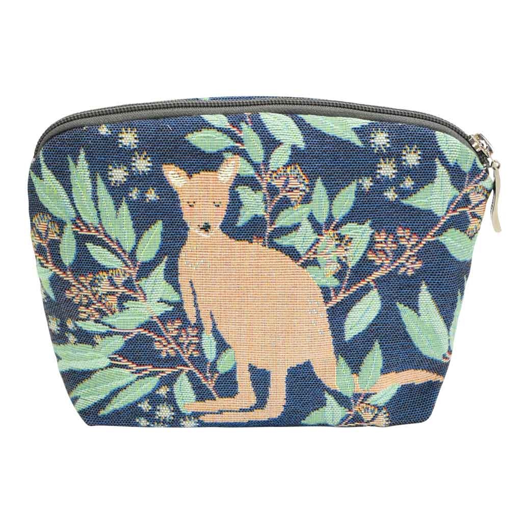 Kangaroo Souvenirs Australia, Luxury Tapestry Cosmetic Bag for Gifts for Women