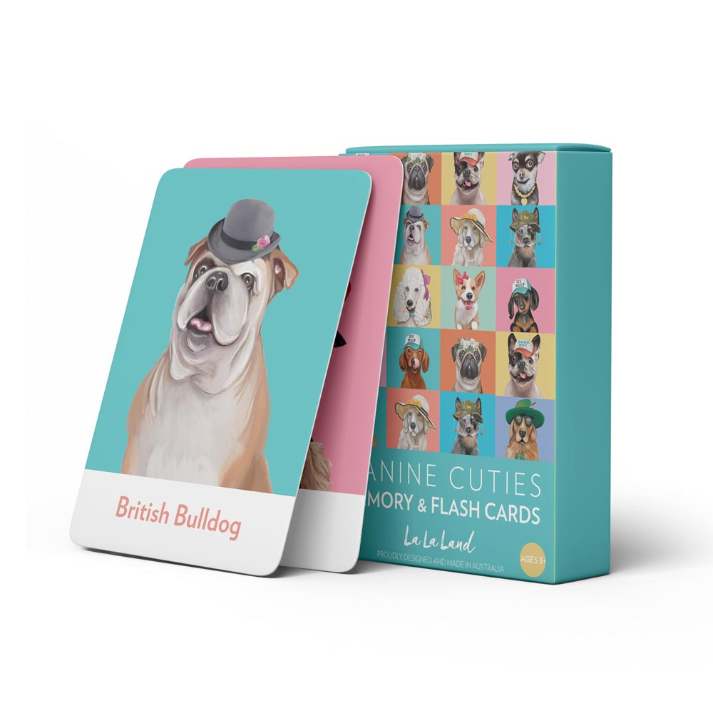 Gifts for Dog Lovers Australia Canine Card Game