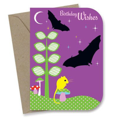 Australian Made Gifts & Souvenirs with the Go Batty! Birthday Card -by Earth Greetings. For the best Australian online shopping for a Greeting Cards