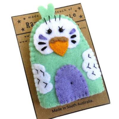 Australian Made Gifts & Souvenirs with the Budgie Finger Puppets -by Razzle Dazzle. For the best Australian online shopping for a Fun - 3