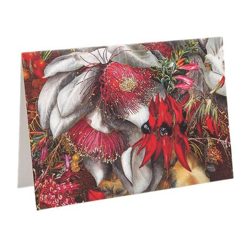 Australian Wildflower Notecard Set