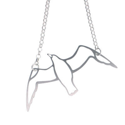 Gull Pendant & Necklace
