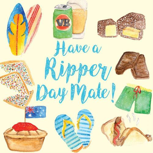 Have a Ripper Day Greeting Card