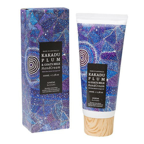 Beautiful Australian Made Kakadu Plum & Goats Milk Hand Cream for Unique Australian Gifts