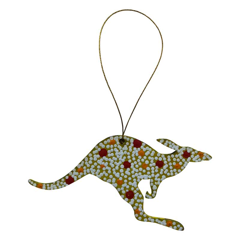 Australiana Christmas Kangaroo Decoration Australian Made