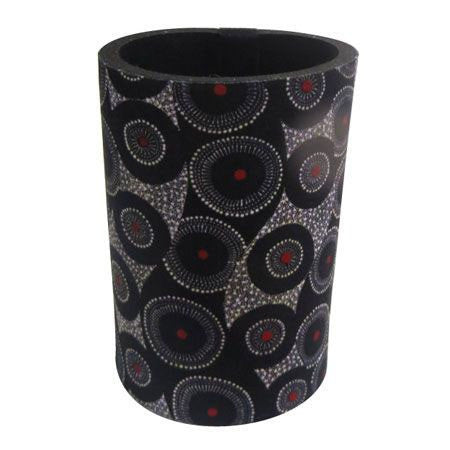 Australian Made Gifts & Souvenirs with the Can Cooler - Artist Karen Bird -by Utopia. For the best Australian online shopping for a Aboriginal Designs - 1