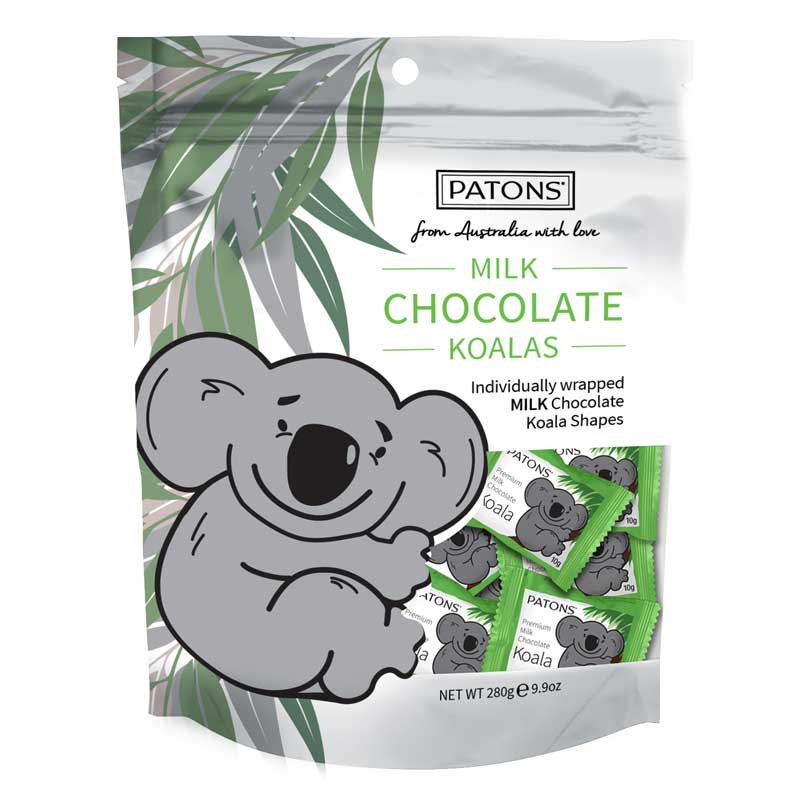 Koala Chocolates Made in Australia by Patons