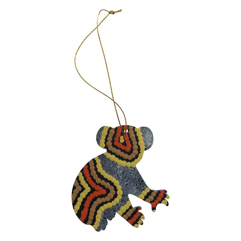 Aboriginal Souvenir Koala Decoration Great for Christmas