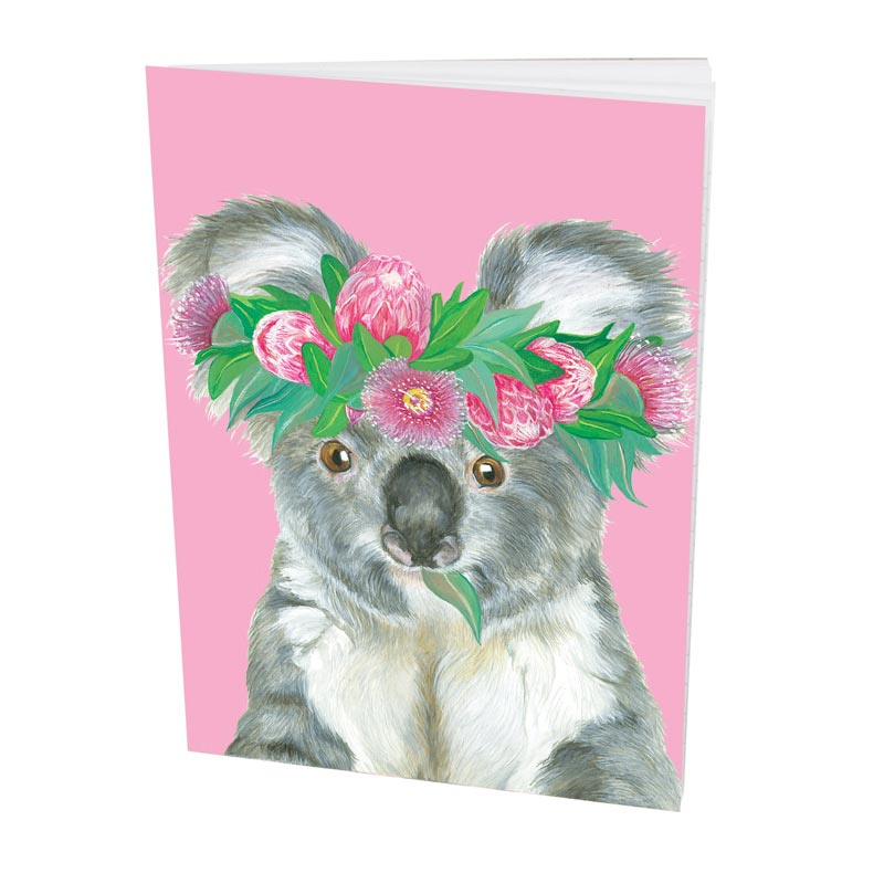 Koala Notebook for Unique Australian Gifts for Girls Made in Australia