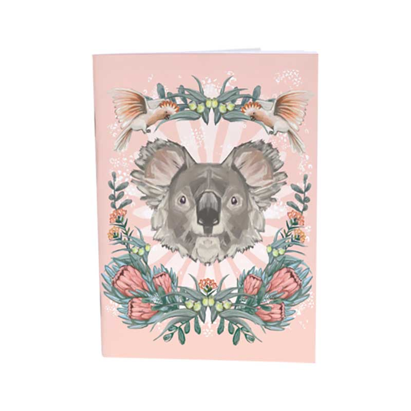 Koala Dreaming A6 Notebook