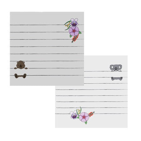 Koala & Wombat Sticky Notes