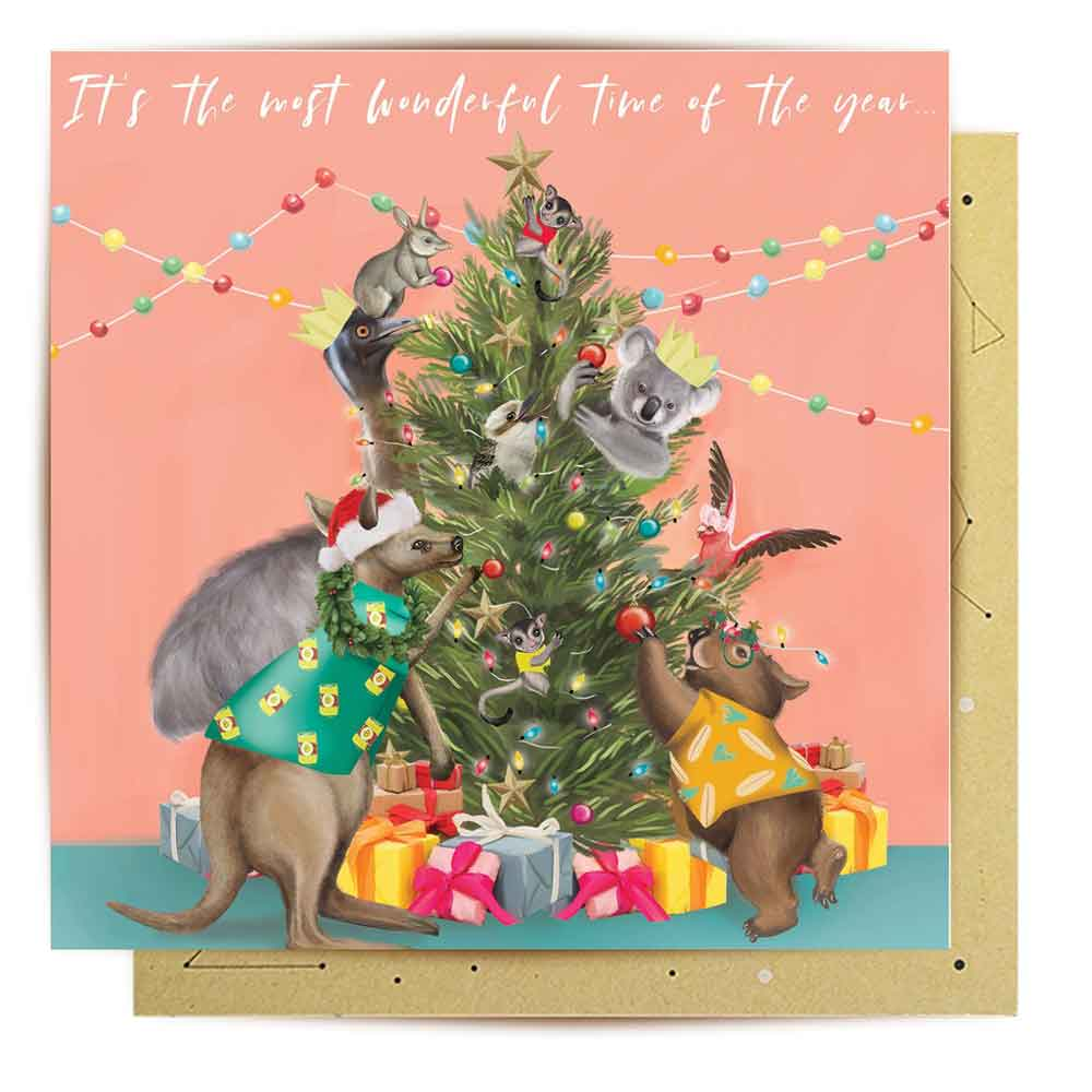 La La Land Australiana Christmas Cards by Lily Perrott