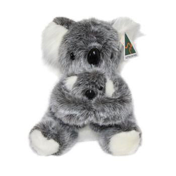 Australian Made Gifts & Souvenirs with the Koala & Baby Soft Toy -by Ocean Yeun. For the best Australian online shopping for a Soft Toys - 1