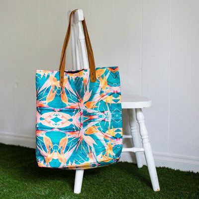 Birds of Paradise Large Tote Bag