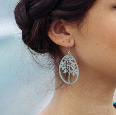 Australian Made Gifts & Souvenirs with the Fig Tree Earrings -by Polli. For the best Australian online shopping for a Jewellery - 2