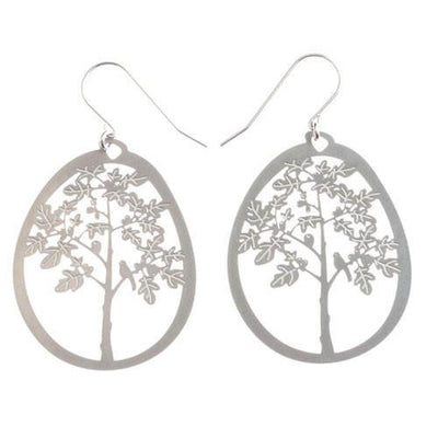 Australian Made Gifts & Souvenirs with the Fig Tree Earrings -by Polli. For the best Australian online shopping for a Jewellery - 1