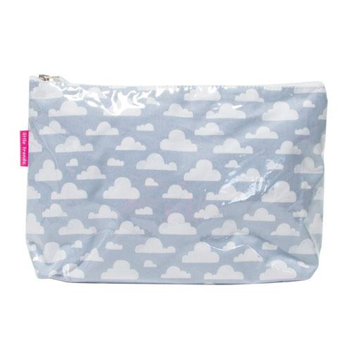 Cloudy Grey Toiletry Bags