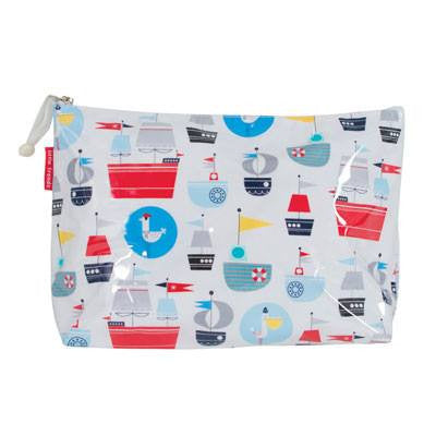 Australian Made Gifts & Souvenirs with the Large Nautical Toiletry Bag -by Annabel Trends. For the best Australian online shopping for a Bags