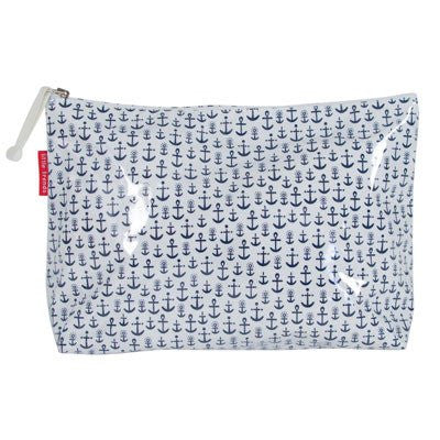 Australian Made Gifts & Souvenirs with the Large Anchor Toiletry Bag -by Annabel Trends. For the best Australian online shopping for a Travel Accessories
