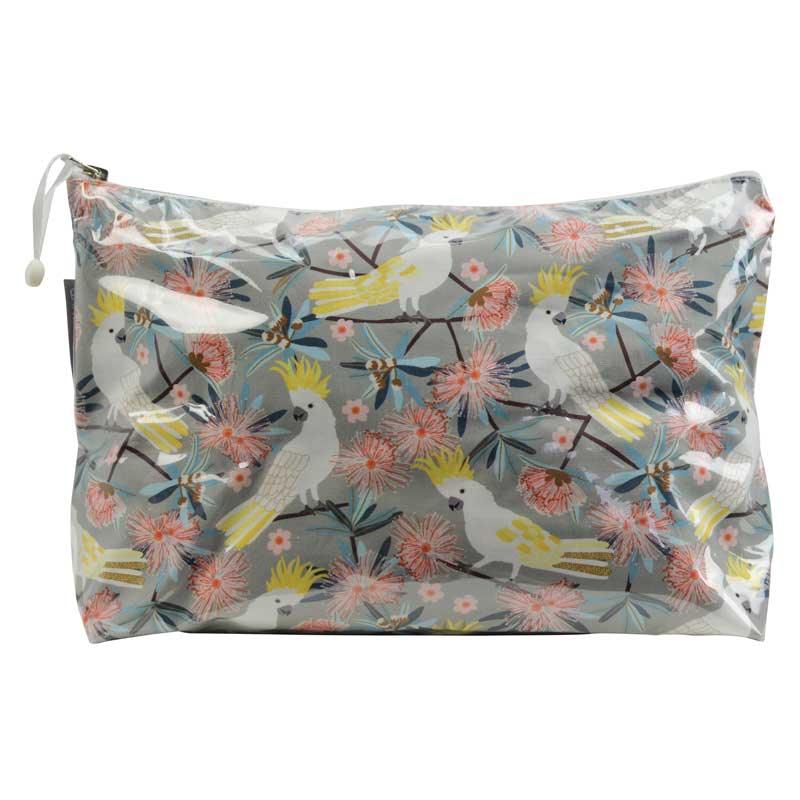 Cockatoo themed gifts for women Australia - cosmetic bags