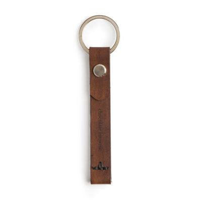 Australian Made Gifts & Souvenirs with the Leather Keyring -by Chocolate Brownie. For the best Australian online shopping for a Mens