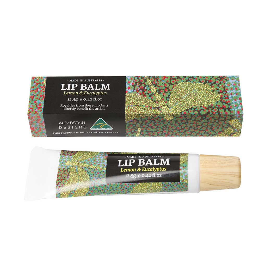 Australian Skincare Gifts - Lemon & Eucalyptus Lip Balm Made in Australia