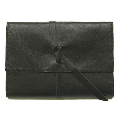 Black Kangaroo Leather A6 Journal