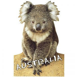 Australian Made Gifts & Souvenirs with the Koala Magnet -by Visit Merchandise. For the best Australian online shopping for a Magnets - 1