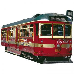 Australian Made Gifts & Souvenirs with the Melbourne Tram Magnet -by Visit Merchandise. For the best Australian online shopping for a Magnets - 1