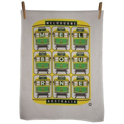 Melbourne Tram Tea Towels
