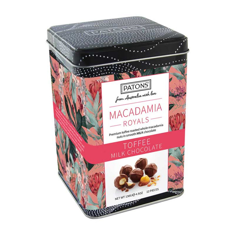 Macadamia Royals Milk Gift Tin