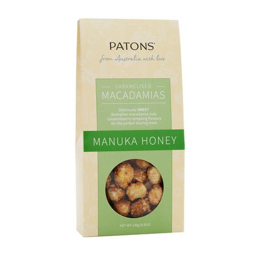 Caramelised Macadamias with Manuka Honey