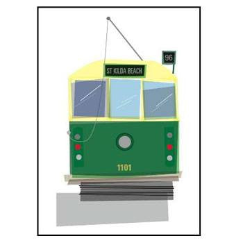 Australian Made Gifts & Souvenirs with the Tram A4 Print -by Aero Images. For the best Australian online shopping for a Art Work