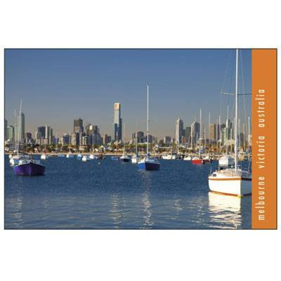 Australian Made Gifts & Souvenirs with the Melbourne Water Scene Magnet -by Visit Merchandise. For the best Australian online shopping for a Magnets