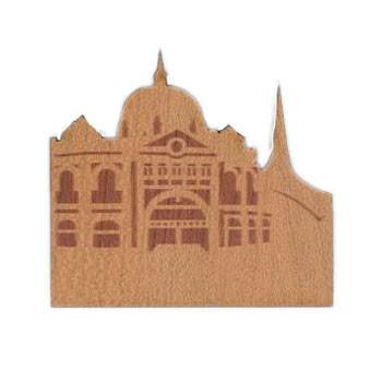 Australian Made Gifts & Souvenirs with the Melbourne Wooden Magnet -by Aero Images. For the best Australian online shopping for a Magnets
