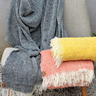 Australian Made Gifts & Souvenirs with the Loose Weave Merino Throws -by The Spotted Quoll. For the best Australian online shopping for a Throws - 1