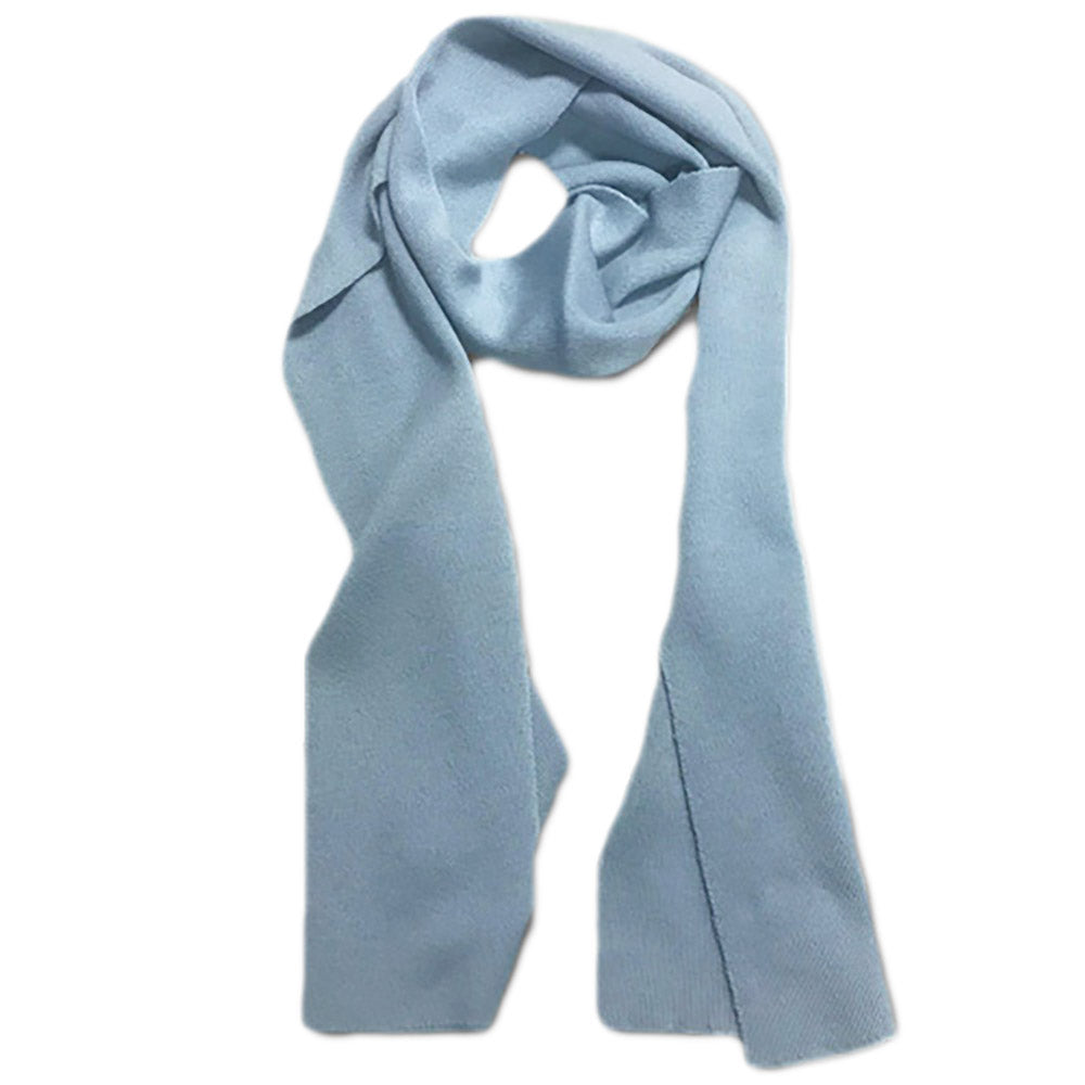 Made in Australia Powder Blue Merino Wool Scarf