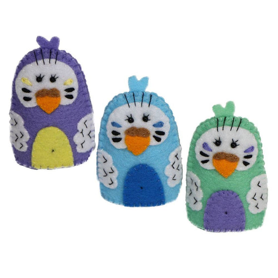 Australian Made Gifts & Souvenirs with the Budgie Finger Puppets -by Razzle Dazzle. For the best Australian online shopping for a Fun - 1