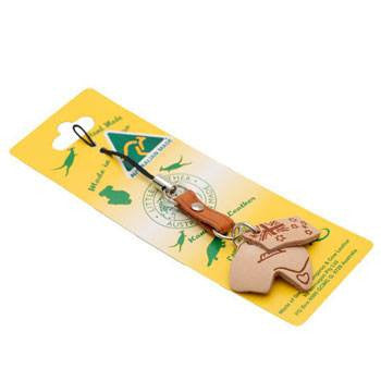 Australian Made Gifts & Souvenirs with the Australia Map Mobile Strap -by Gamagon. For the best Australian online shopping for a Souvenirs - 1