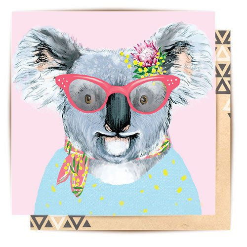 Fun Mothers Day Koala Greeting Card