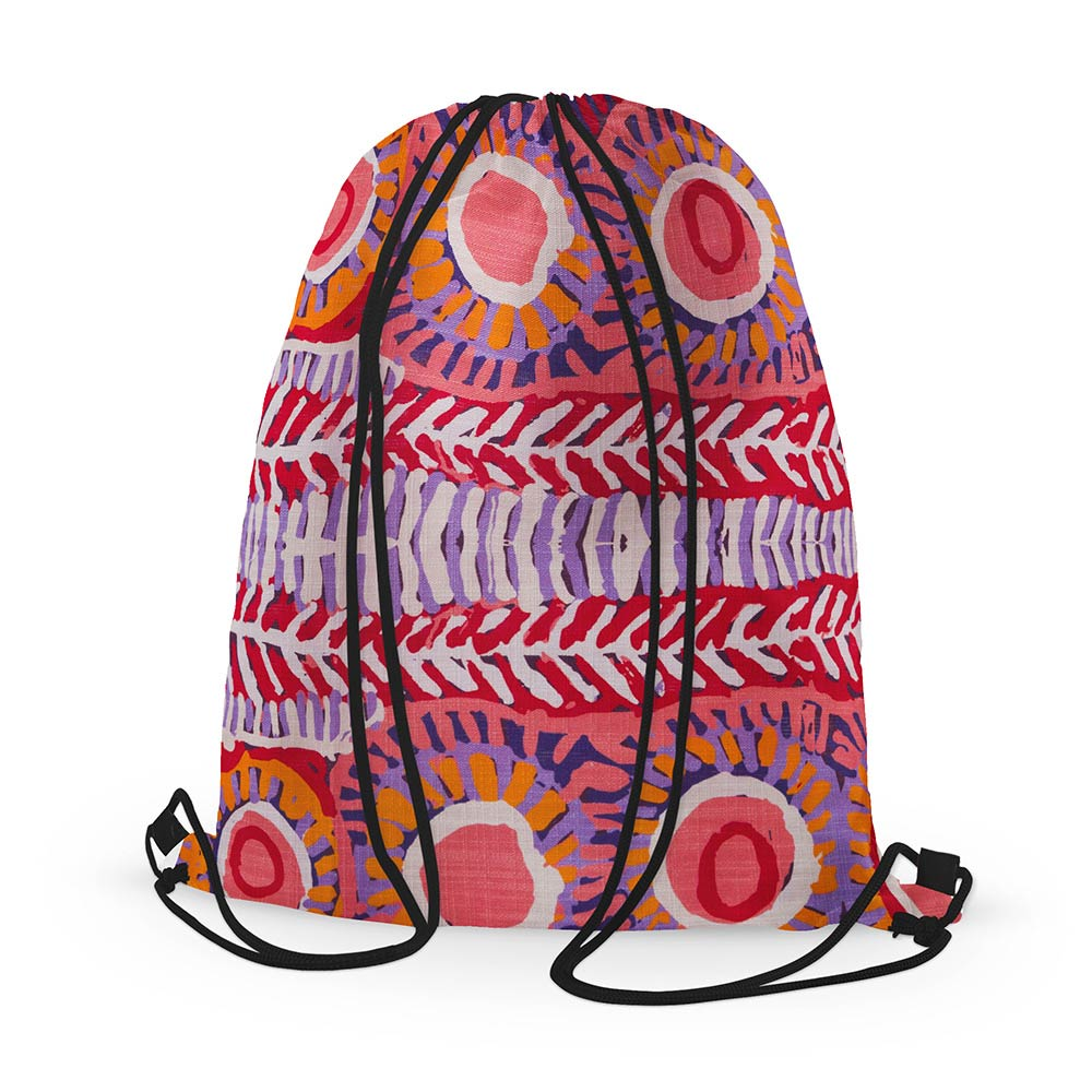 Student Exchange Gifts Australia - Aboriginal Design Backpacks