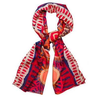 Australian Made Gifts & Souvenirs with the Murdie Morris Silk Scarf -by Alperstein Designs. For the best Australian online shopping for a Scarves - 1
