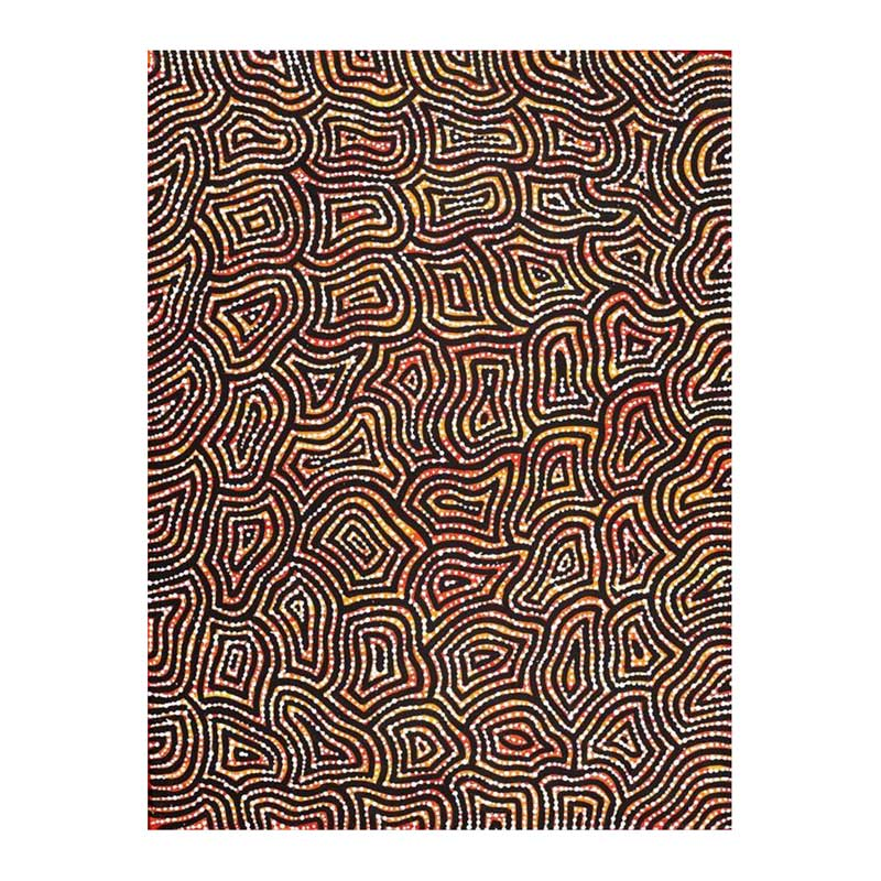 Aboriginal Art - Fire Country Dreaming 61cm x 46cm