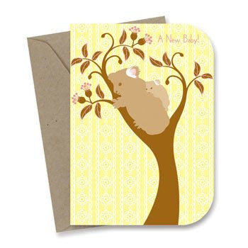 New Baby Card - Koalas