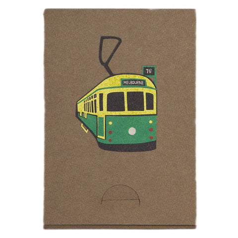 Melbourne Tram Pocket Note Pad