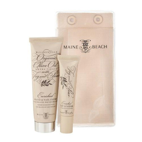 Australian Made Gifts & Souvenirs with the Organic Olive Skin Essentials Gift Pack -by Maine Beach. For the best Australian online shopping for a Skincare